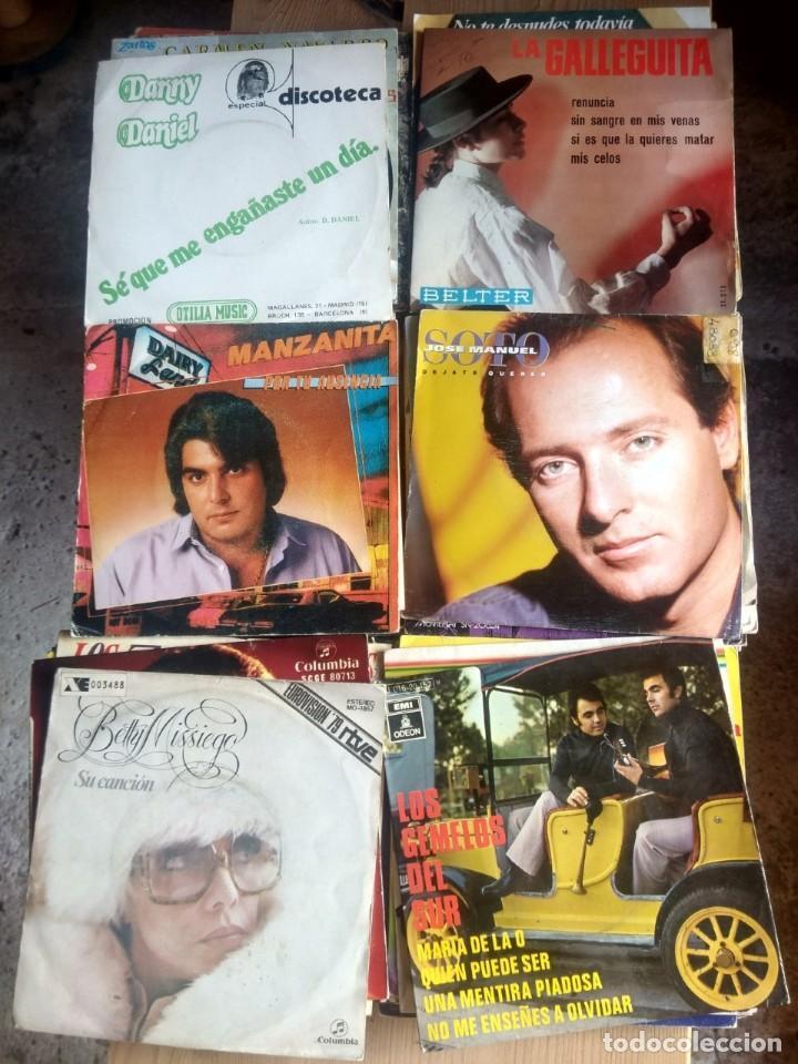 Discos de vinilo: LOTE 72 DISCOS ARTISTAS ESPAÑOLES ( LOS PAYOS, RAPHAEL, MOCEDADES, MANZANITA, AUTE, LOS TNT, ETC - Foto 10 - 237936385