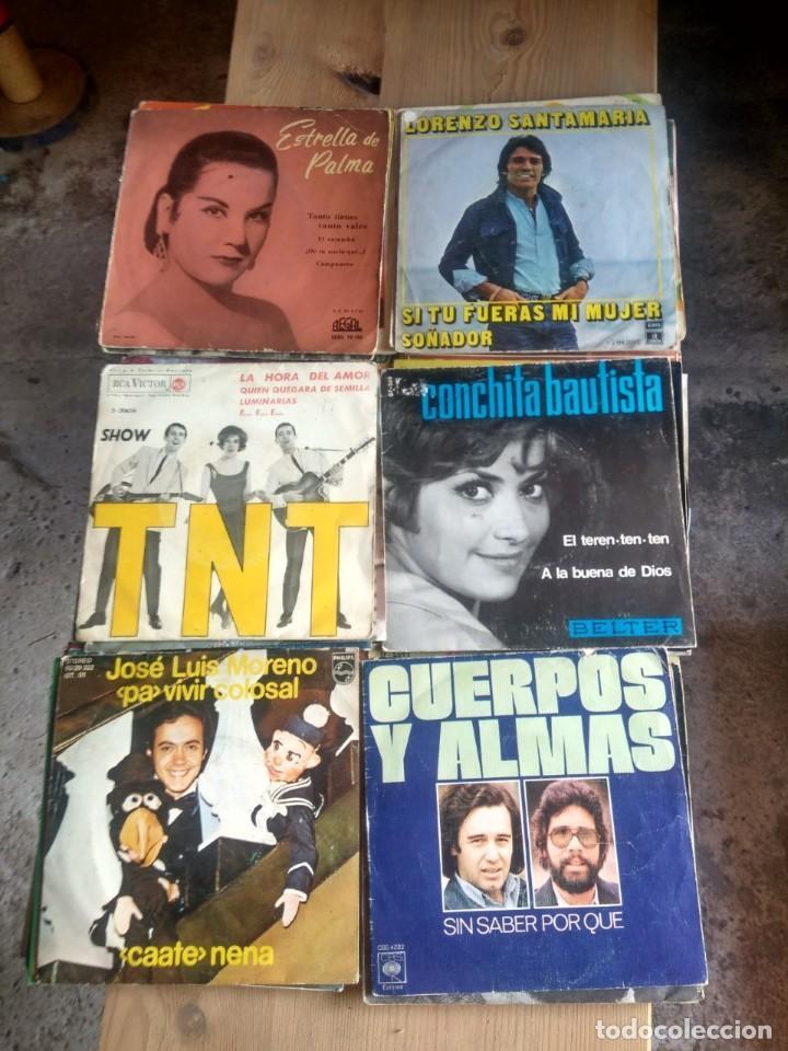Discos de vinilo: LOTE 72 DISCOS ARTISTAS ESPAÑOLES ( LOS PAYOS, RAPHAEL, MOCEDADES, MANZANITA, AUTE, LOS TNT, ETC - Foto 11 - 237936385