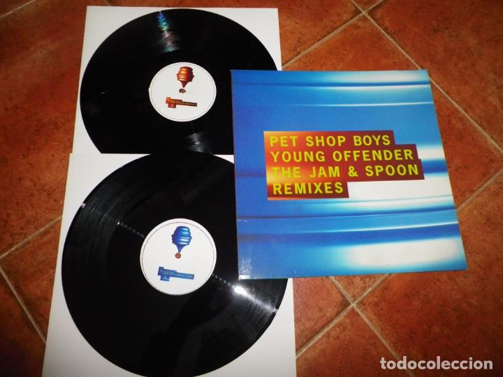 Discos de vinilo: PET SHOP BOYS Liberation the e smoove & Murk REMIXES DOBLE MAXI SINGLE VINILO PROMO 1994 UK 2 x MAXI - Foto 2 - 237936430