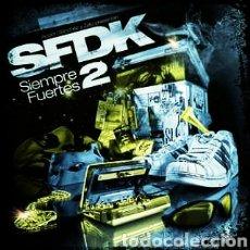 Discos de vinilo: SFDK -SIEMPRE FUERTES - DOBLE LP VINILO NUEVO PRECINTADO. HIP HOP. Lote 237941110