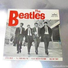 Discos de vinilo: THE BEATLES -- PLEASE MR. POSTMAN & LITTLE CHILD +2 LABEL AZUL OSCURO--NEAR MINT ( NM OR M ). Lote 237941905