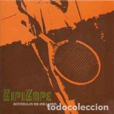Discos de vinilo: ZIPI ZAPE EP AVENTURAS EN ROLAND GARRÓS VINILO BLANCO NUEVO ELEFANT. Lote 237947645