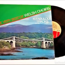 Discos de vinilo: VINILO THE VERY BEST OF WELSH CHOIRS. Lote 237954805