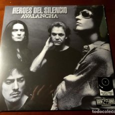 Discos de vinilo: HEROES DEL SILENCIO - AVALANCHA - LP + CD + ENCARTE. Lote 237966740