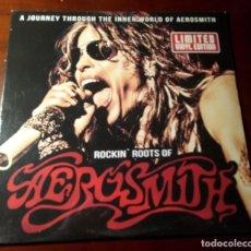 Discos de vinilo: AEROSMITH - ROCKIN ROOTS OF - LP - NUEVO. Lote 237966960