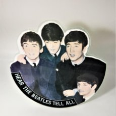 Discos de vinilo: THE BEATLES‎–HEAR THE BEATLES TELL ALL /COLLECTORS PICTURES DISC. Lote 237984750