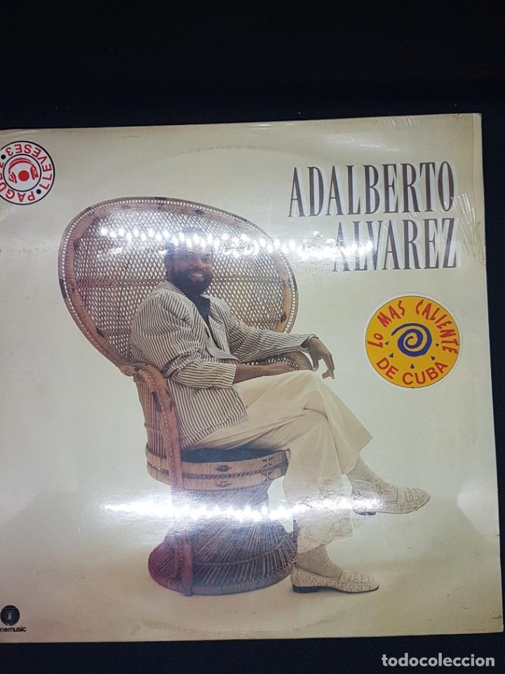 ADALBERTO ALVAREZ - DISCO CON GRANDES EXITOS (Música - Discos - LP Vinilo - Otros estilos)