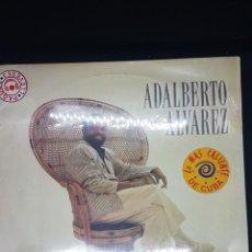 Discos de vinilo: ADALBERTO ALVAREZ - DISCO CON GRANDES EXITOS. Lote 238011995
