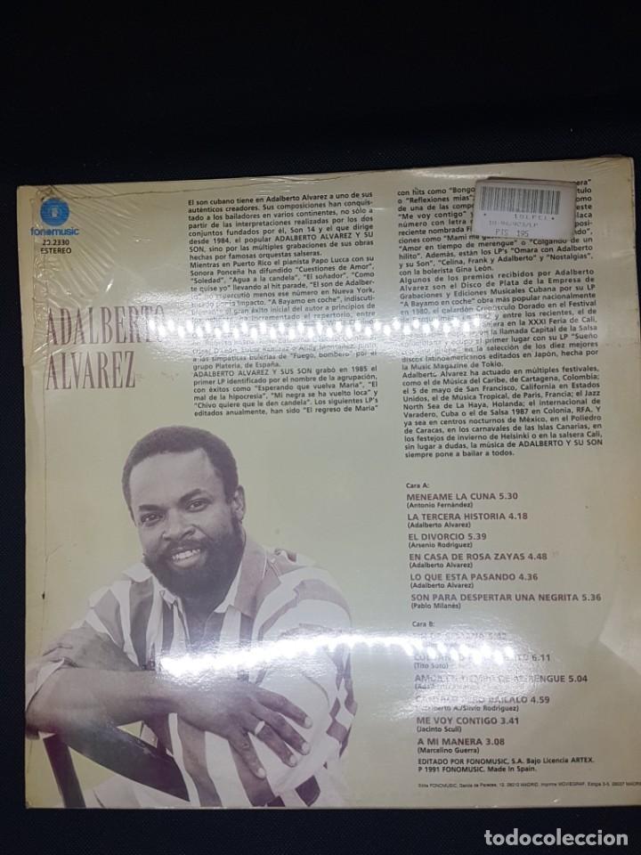 Discos de vinilo: ADALBERTO ALVAREZ - Disco con Grandes Exitos - Foto 2 - 238011995