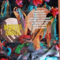 Discos de vinilo: NOCHE BUENA ANDALUZA. VARIOS ARTISTAS. BELTER 1969. Lote 238047545