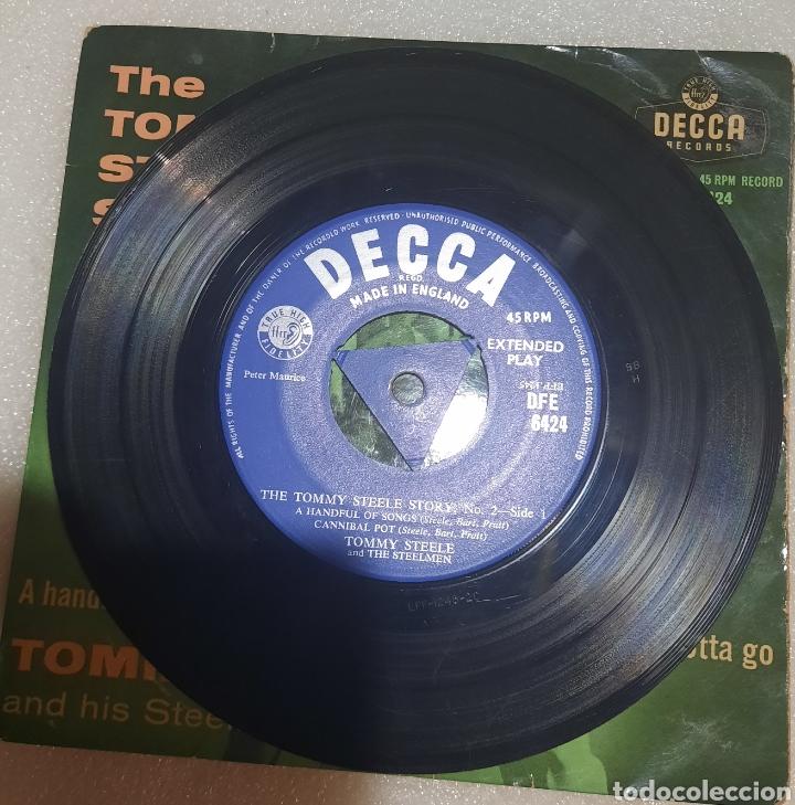 Discos de vinilo: The Tommy Steele Story - a handful of songs + 3 - Foto 2 - 238049035
