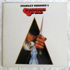 Discos de vinilo: LP VINILO STANLEY KUBRICK'S CLOCKWORK ORANGE, BANDA SONORA DE LA NARANJA MECÁNICA 1972. Lote 238062825