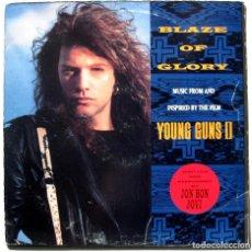Discos de vinilo: JON BON JOVI - BLAZE OF GLORY - MAXI VERTIGO 1990 BPY. Lote 238087605