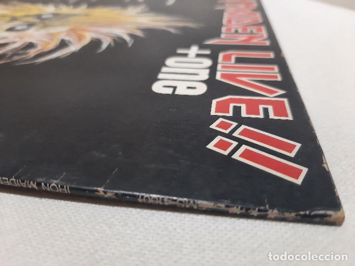 Discos de vinilo: IRON MAIDEN -LIVE!! + ONE- (1980) EP - Foto 8 - 238093545