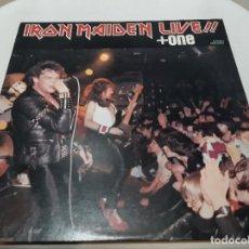 Discos de vinilo: IRON MAIDEN -LIVE!! + ONE- (1980) EP. Lote 238093545