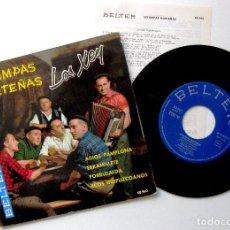 Discos de vinilo: LOS XEY - ESTAMPAS NORTEÑAS - ADIOS PAMPLONA +3 - EP BELTER 1961 BPY. Lote 238110100