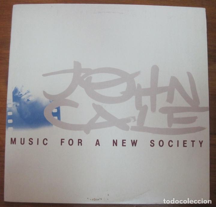JOHN CALE–MUSIC FOR A NEW SOCIETY LP (Música - Discos - LP Vinilo - Otros estilos)