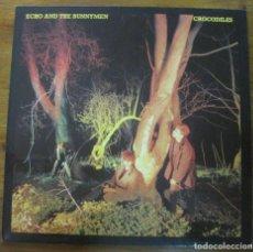 Discos de vinilo: ECHO & THE BUNNYMEN–CROCODILES. Lote 238120325