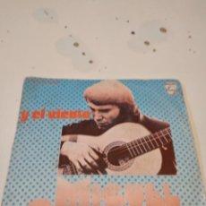 Discos de vinilo: BAL-4 DISCO CHICO 7 PULGADAS MUSICA MIGUEL CABANELLAS Y EL VIENTO IRRESPONSABLE SOY SEÑORES. Lote 238121975