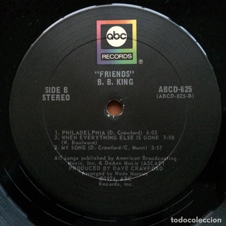 Discos de vinilo: B.B. King – Friends USA,1974 ABC Records - Foto 4 - 238122620