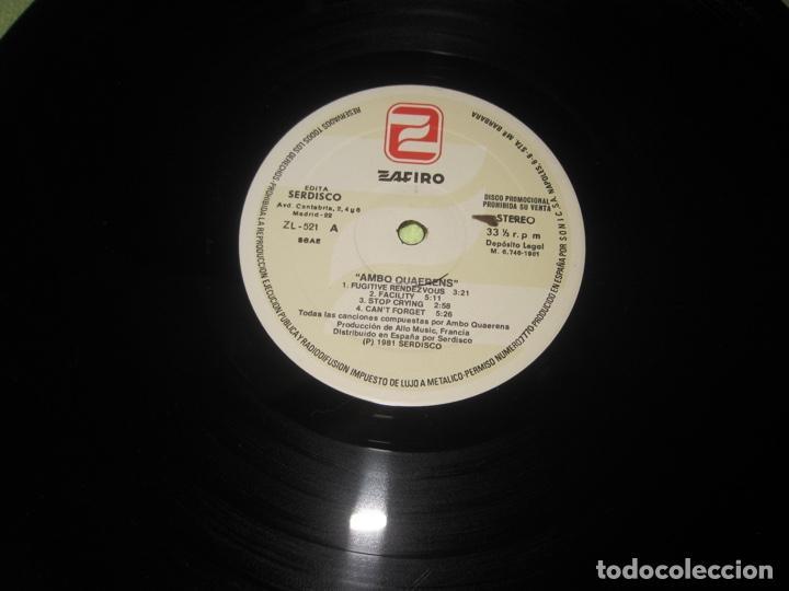Discos de vinilo: Ambo Quaerens–Ambo Quaerens lp Ed. promo - Foto 8 - 238130240