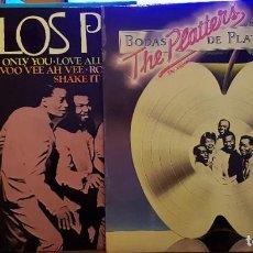 Discos de vinilo: LOTE DE 3 DISCO LO MEJOR THE PLATTERS. Lote 238139200