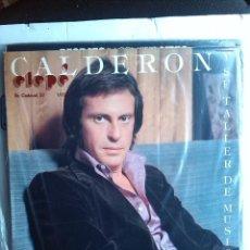 Discos de vinilo: JUAN CARLOS CALDERON Y SU TALLER DE MUSICA VOL 2 1975. Lote 238155335