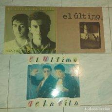 """Discos de vinilo: 3 VINILOS """"EL ÚLTIMO DE LA FILA"""". Lote 238163205"""