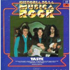 Discos de vinilo: TASTE - HISTORIA DE LA MUSICA ROCK VOL. 17 - LP. Lote 238188485