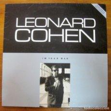 Discos de vinilo: LEONARD COHEN–I'M YOUR MAN LP. Lote 238188765