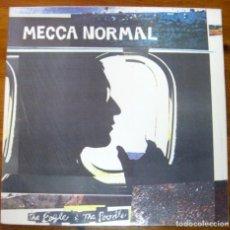 Discos de vinilo: MECCA NORMAL–THE EAGLE & THE POODLE LP. Lote 238189660