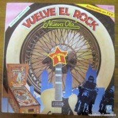 Discos de vinilo: VUELVE EL ROCK NUEVA OLA VOL.1 LP. Lote 238192900