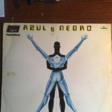 """Discos de vinilo: AZUL Y NEGRO - """"NO TENGO TIEMPO"""", MAXI SINGLE 1983. Lote 238194595"""