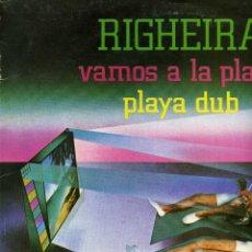 Discos de vinilo: RIGHEIRA - VAMOS A LA PLAYA. Lote 238195290