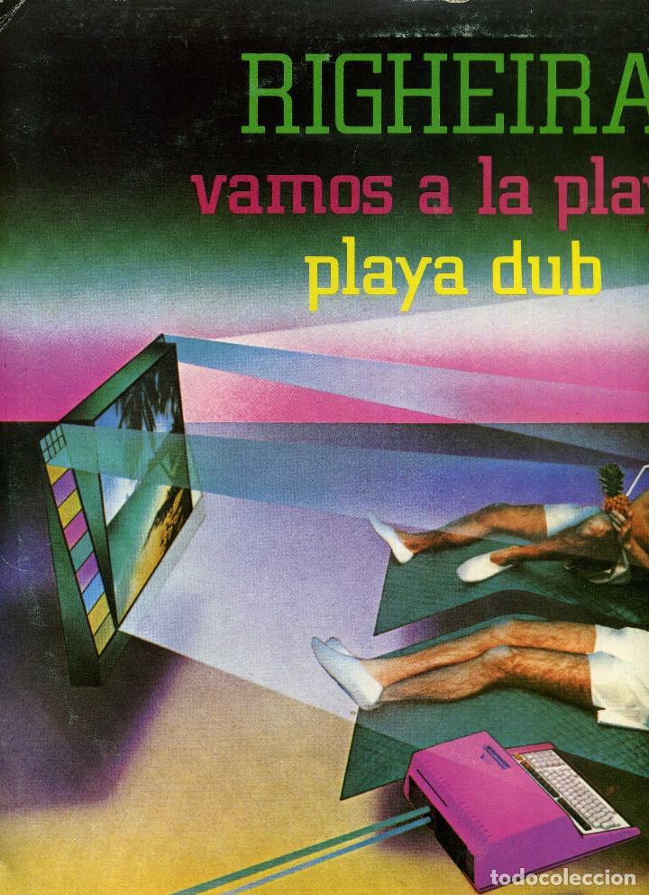 Discos de vinilo: RIGHEIRA - VAMOS A LA PLAYA - Foto 2 - 238195290