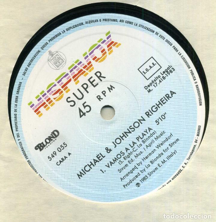 Discos de vinilo: RIGHEIRA - VAMOS A LA PLAYA - Foto 3 - 238195290