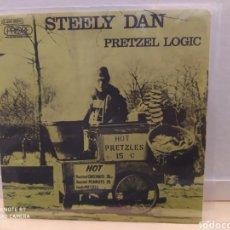 Discos de vinilo: STEELY DAN–PRETZEL LOGIC . SINGLE VINILO EDICIÓN FRANCIA 1974. BUEN ESTADO.. Lote 290914908