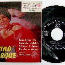 Discos de vinilo: LIBERTAD LAMARQUE - ADIOS PAMPA MÍA +3 - EP RCA VICTOR 1962 BPY. Lote 238201930