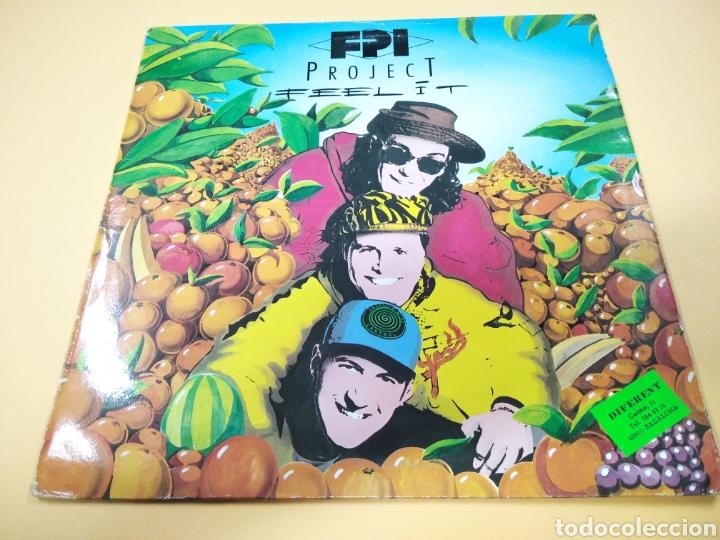 P FPI PROJECT FEEL IT MAXI SINGLE (Música - Discos - LP Vinilo - Techno, Trance y House)