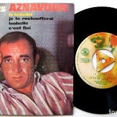 Discos de vinilo: CHARLES AZNAVOUR - LE TORÉADOR +3 - EP BARCLAY 1965 BPY. Lote 238212410