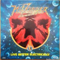 Discos de vinilo: NITZINGER - LIVE BETTER ELECTRICALLY. Lote 238213640