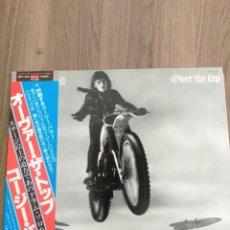 """Discos de vinilo: COZY POWELL """" OVER THE TOP """". EDICIÓN JAPÓN CON OBI + ENCARTE CON LETRAS. 1979. POLYDOR JAPAN.. Lote 238240375"""