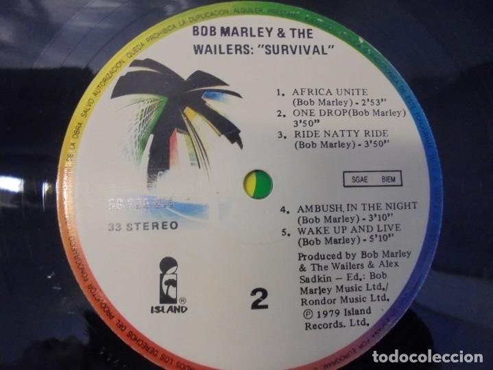 Discos de vinilo: BOB MARLEY & THE WAILERS. LP VINILO. DISCOGRAFIA ARIOLA EURODISC. 1979 - Foto 4 - 238242920