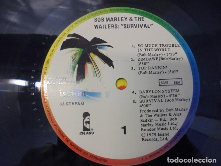 Discos de vinilo: BOB MARLEY & THE WAILERS. LP VINILO. DISCOGRAFIA ARIOLA EURODISC. 1979 - Foto 6 - 238242920