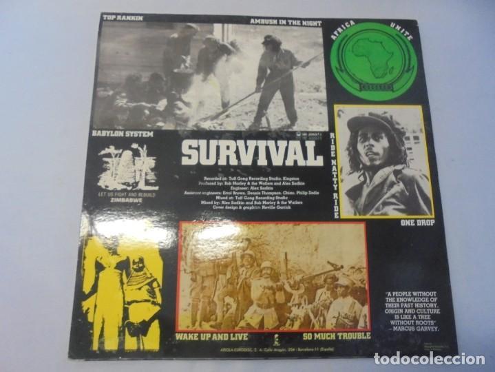 Discos de vinilo: BOB MARLEY & THE WAILERS. LP VINILO. DISCOGRAFIA ARIOLA EURODISC. 1979 - Foto 7 - 238242920
