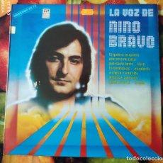 Discos de vinilo: LIQUIDACION LP EN PERFECTO ESTADO - LA VOZ DE NINO BRAVO (1979-1980). Lote 238243695