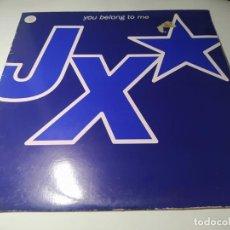 Disques de vinyle: MAXI - JX – YOU BELONG TO ME - NM1094MX ( VG+ / VG+) SPAIN 1995. Lote 238249765