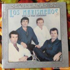 Discos de vinilo: LIQUIDACION LP EN PERFECTO ESTADO - LOS MARISMEÑOS_VIVE LA VIDA CANTANDO (AÑO OCHENTAS). Lote 238253405