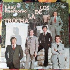 Discos de vinilo: LIQUIDACION LP EN PERFECTO ESTADO - LOS DE LA TROCHA_ESTOY ENAMORADO (AÑO OCHENTAS). Lote 238253905