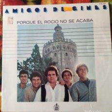 Discos de vinilo: LIQUIDACION LP EN PERFECTO ESTADO - AMIGOS DE GINES_PORQUE EL ROCIO NO SE ACABA (AÑO OCHENTAS). Lote 238254610